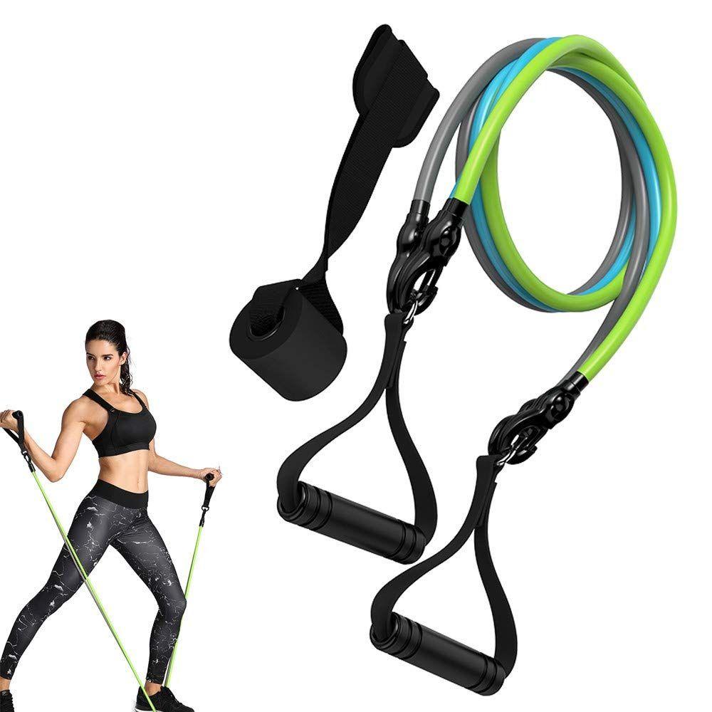Tube D Exercices Corde Elastique De Resistance Tubes De Resistance Elastiques Lot De 3 Pour Musculat Appareil Fitness Fitness Et Musculation Corde Elastique