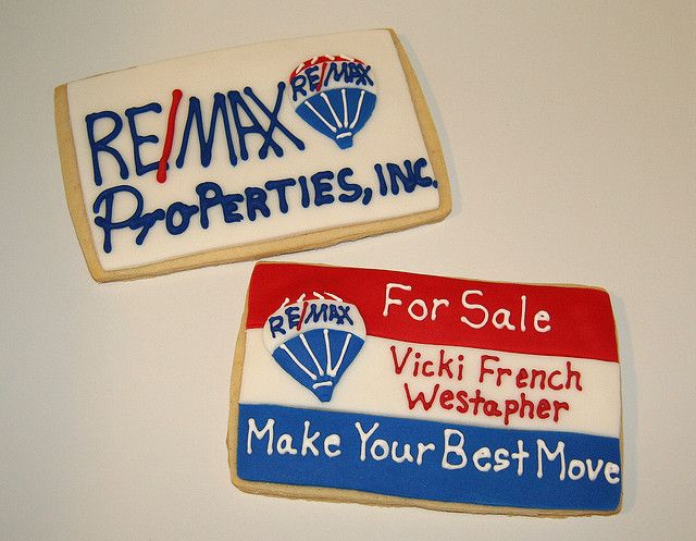 remax real estate cookies great way to market yourself