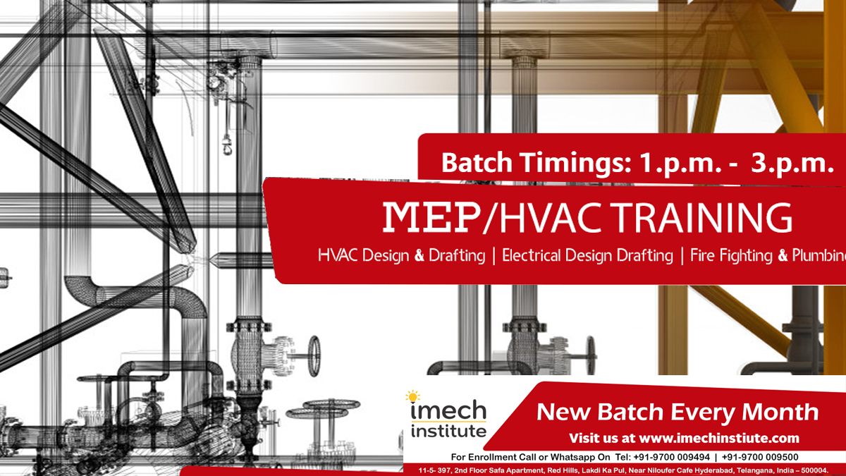 Best MEP Training Institute In Hyderabad India Hvac