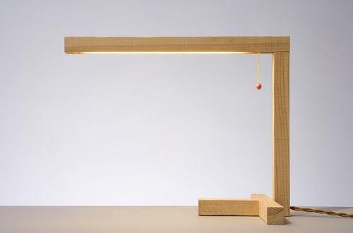 Bureau Beau Design Bois Lampe BrutLe Bois PwTOkZuXi