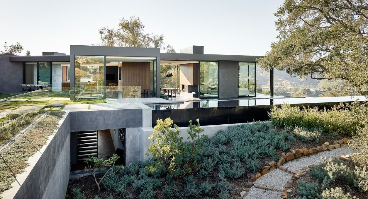 Oak Pass House in Los Angeles, California by Walker Workshop ...