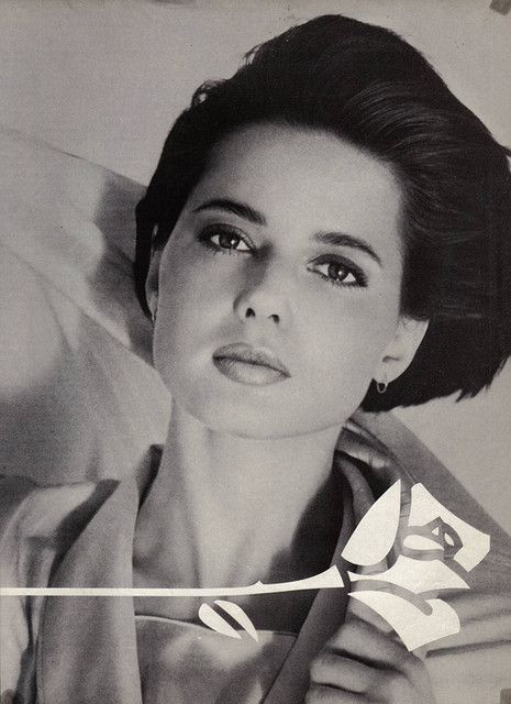 Half Italian - half Swedish, Isabella Rossellini. I dare you to find a flaw...