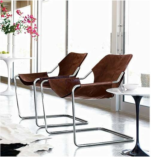 Paulistano Armchair ($1,317.50 from Design Within Reach) - Brazillian version of a Bauhaus classic