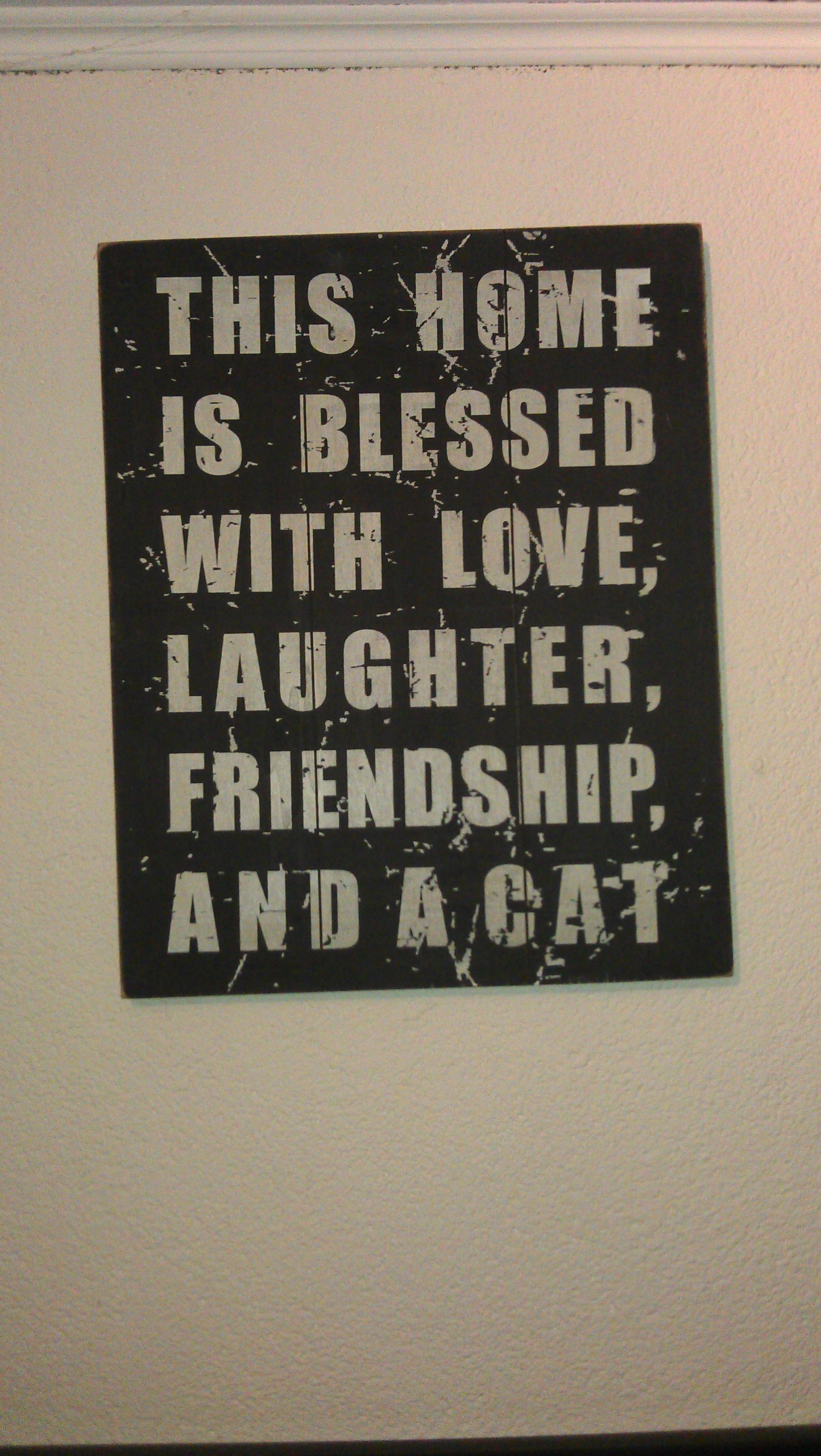 This home is blessed with.....