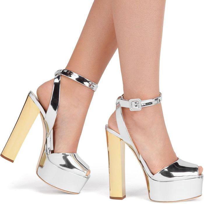 3441feb3ebeea Giuseppe Zanotti 'Betty' Platform Sandals | Celebrities Wearing ...