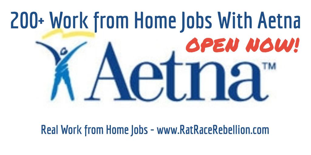200 Work From Home Jobs With Aetna Ratracerebellion Com
