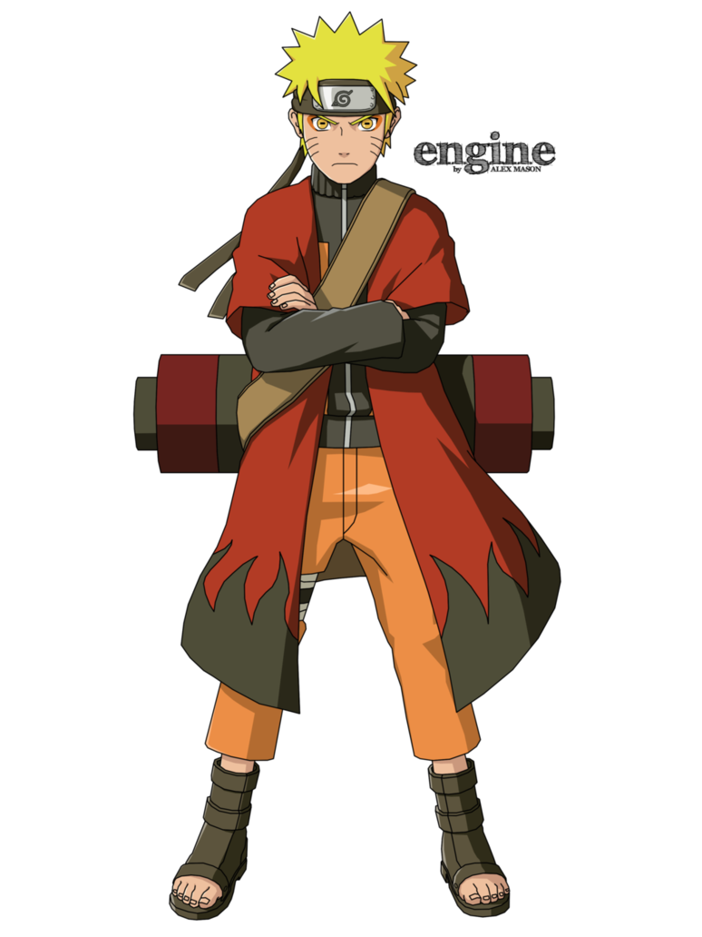 Naruto Sage Mode By Masonengine Naruto Uzumaki Naruto Sage Naruto Shippuden Anime