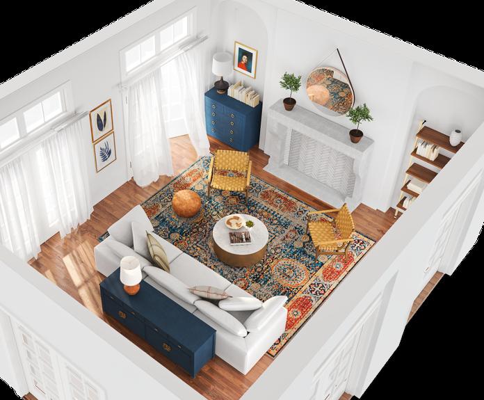 Modsy. Online 3D room design. | Inspiring Spaces | House ...