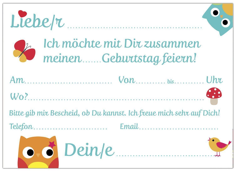einladungskarten kindergeburtstag per email best of