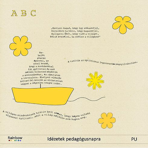 pedagógusnapi idézetek és versek Share Tweet Pin Mail Június első vasárnapja pedagógusnap, melyet