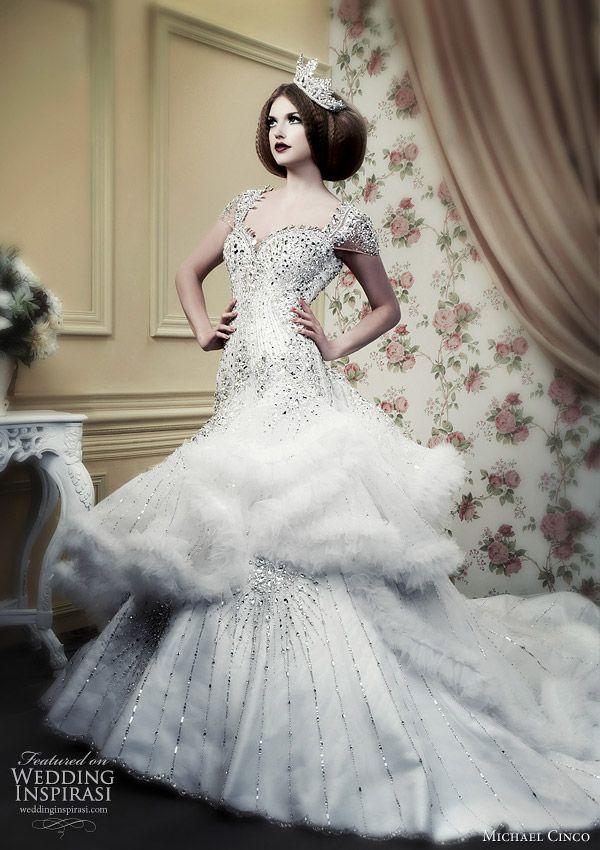 Michael Cinco Wedding Gowns 2010 | Ugly Wedding Dresses | Pinterest ...