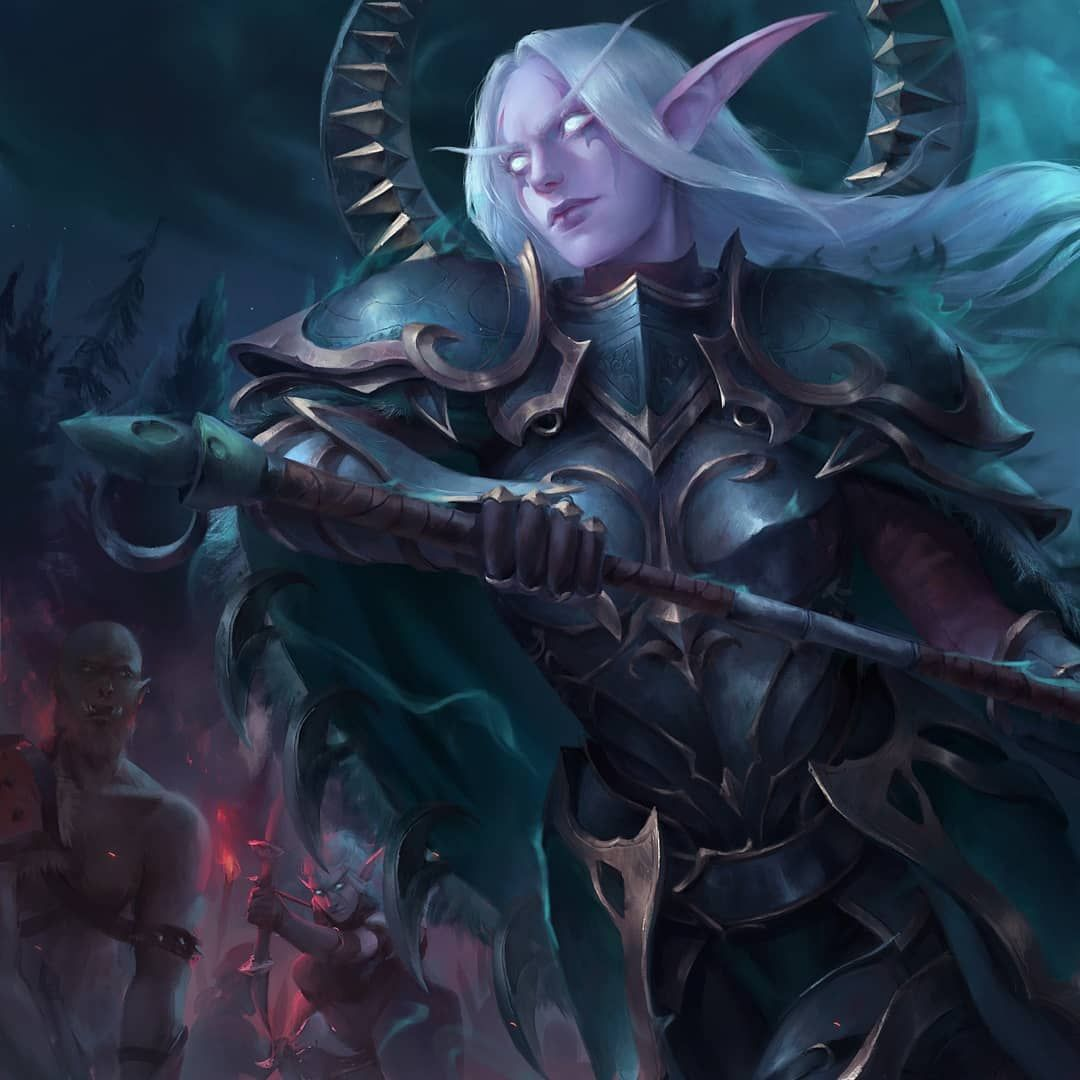 Commissioned Painting Of Lexith Nightblade Fighting At Darkshore Full Version And Wips On Artstation As Always Warcraft Art Elves Fantasy Art