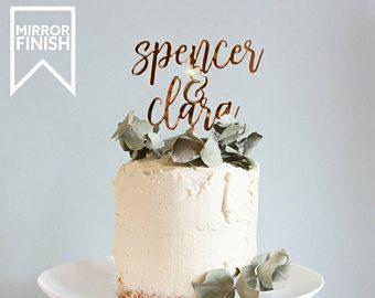 Wedding Cake Topper, Custom Wedding Cake Topper, Personalised Wedding Cake  Topper, Mr And