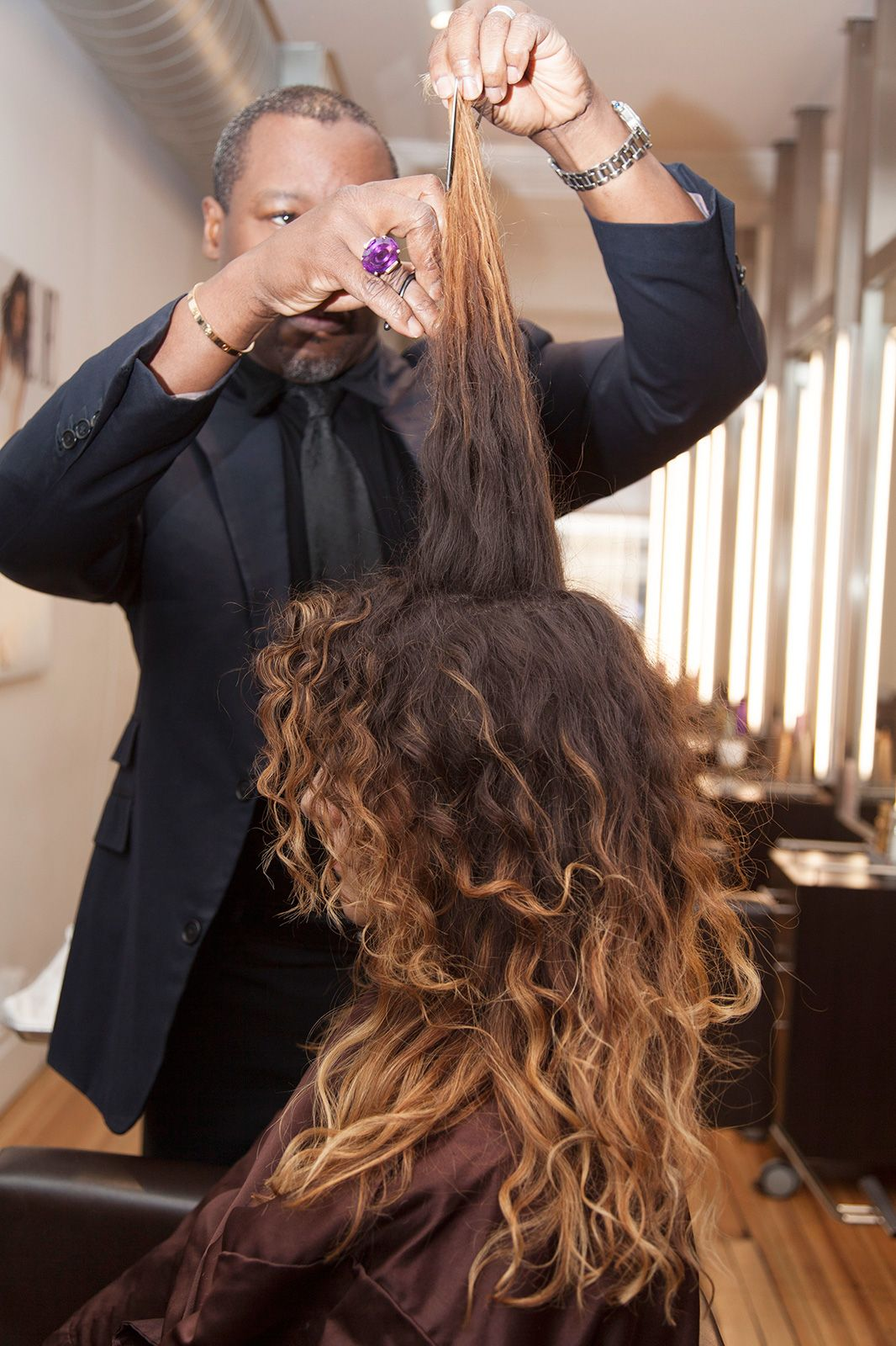 Ted Gibson Spring Hair Makeover Ideas Hair Makeover Curly Hair Styles Naturally Spring Hairstyles