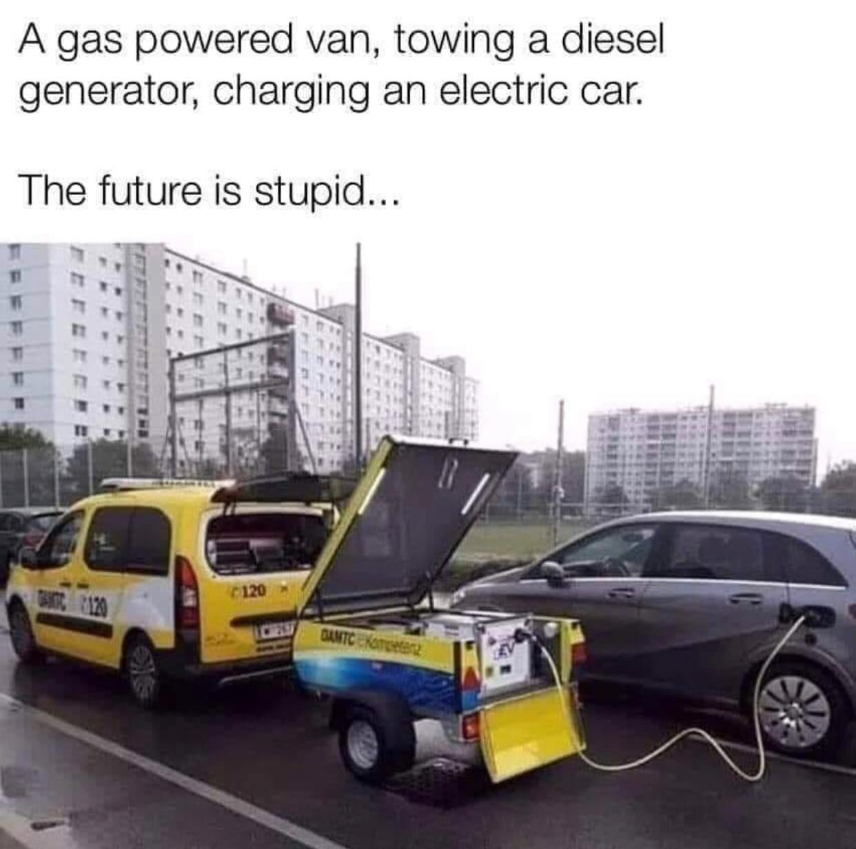 Almost Friday Funny Tesla Is Apparently Recharging Emissions