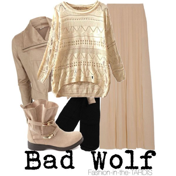 """""""Bad Wolf"""" by wishingadream on Polyvore"""