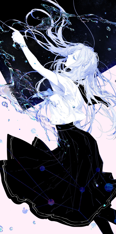 Virgo♧ #zodiac #anime #kawaii #girl #virgo  Anime zodiac