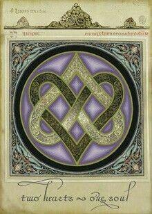 Celtic symbol for soulmates, everlasting love