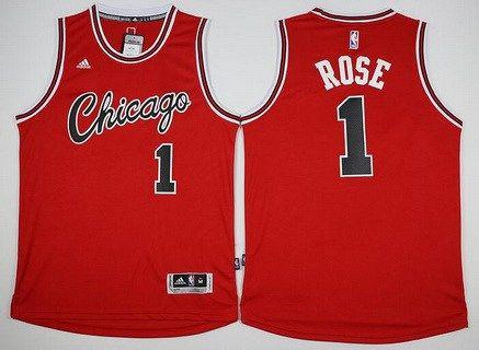 online retailer 3f1dd 78296 Men's Chicago Bulls #1 Derrick Rose Revolution 30 Swingman ...
