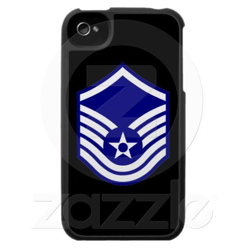 E-7 MSgt Master Sergeant USAF Case For The iPhone 4
