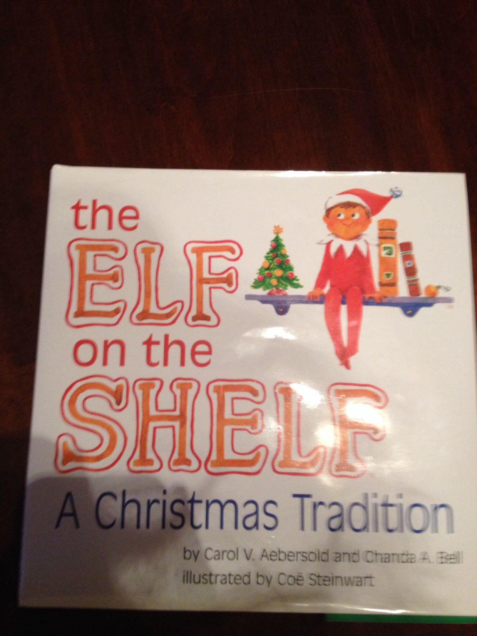 Elf on the shelf book!!!