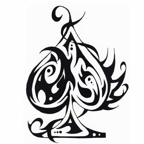 Ace Of Spade Symbol Ace Of Spades Symbol Tattoo Ace Pinterest