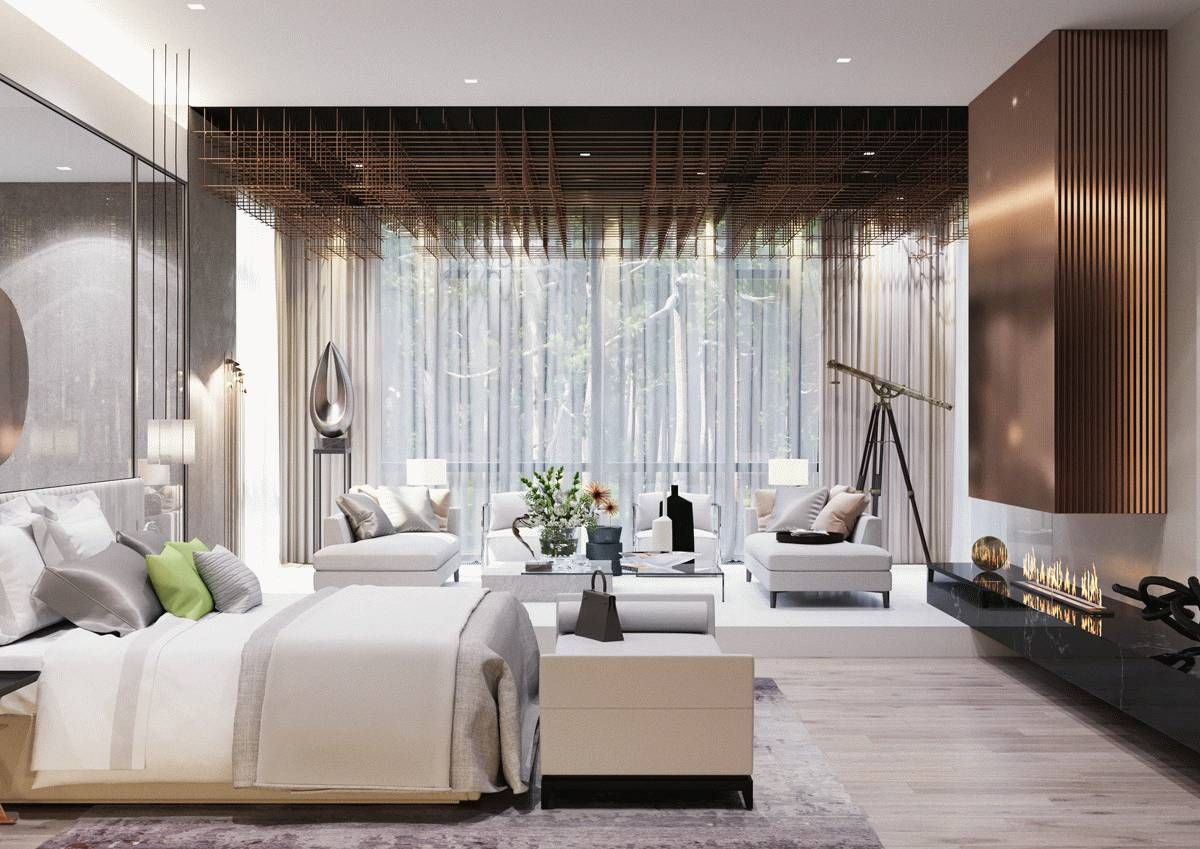 The Top Design Of The Style 800m Modern Luxury Villa Simple Atmosphere Full Of Exquisite Fashion Bedroom Design Trends Modern Bedroom Design Modern Bedroom