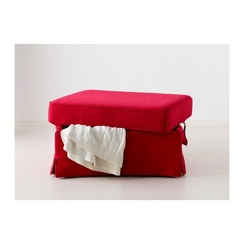 Groovy Ektorp Footstool Idemo Red Ikea Ideas For My Ibusinesslaw Wood Chair Design Ideas Ibusinesslaworg