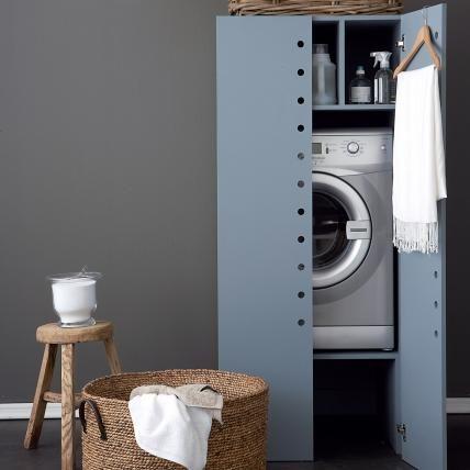 anleitungen ideen f r die wohnung waschmaschinenschrank pinterest. Black Bedroom Furniture Sets. Home Design Ideas