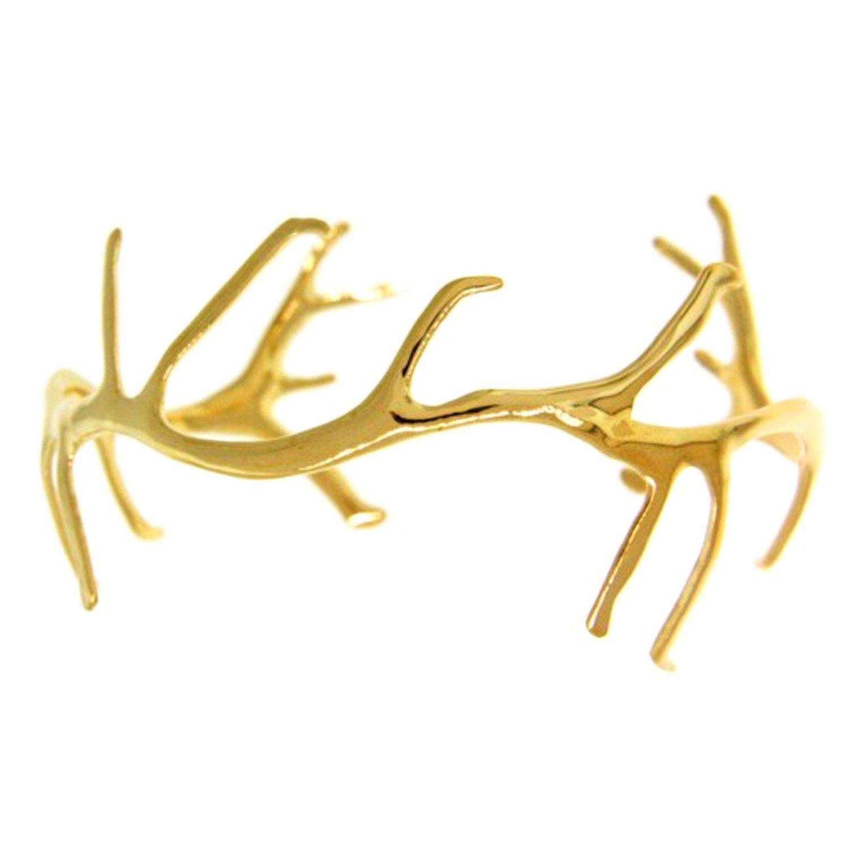 Antler Cuff // Gold By Suzanne Somersall   1\'2\'3\' accessorize ...