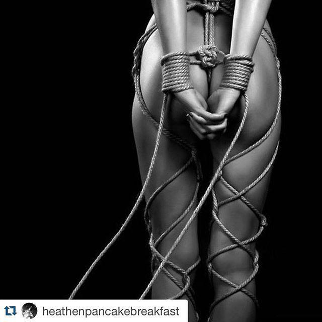 Erotic knot tying