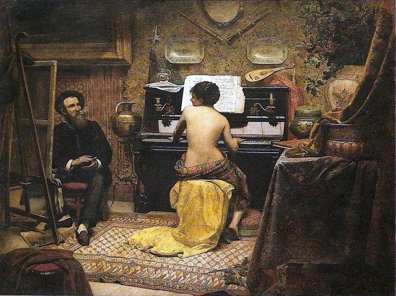Almeida Junior José Ferraz de Almeida Júnior ( Brazilian painter, 1850-1899).