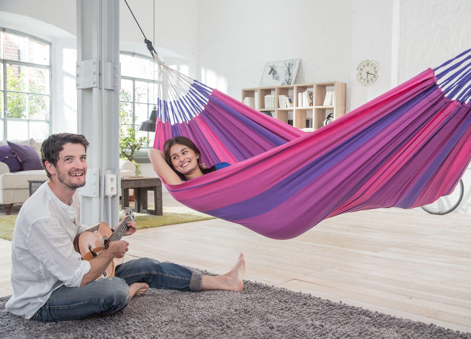 Orquídea purple cotton single classic hammock pinterest