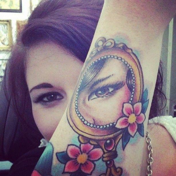 Tattoo Spiegelbild