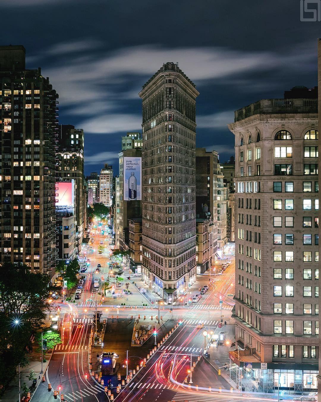 "New York City (@beholdingeye) on Instagram: ""Flatiron District"""