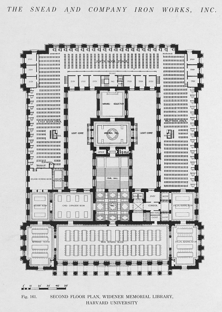 Widener Library Library Floor Plan Library Plan How To Plan