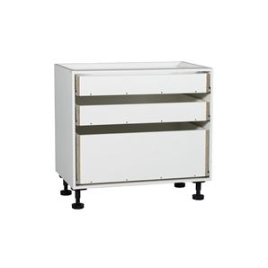 $255 Base Cabinet Kaboodle 900mm 3drawer W-51616 Bunnings ...