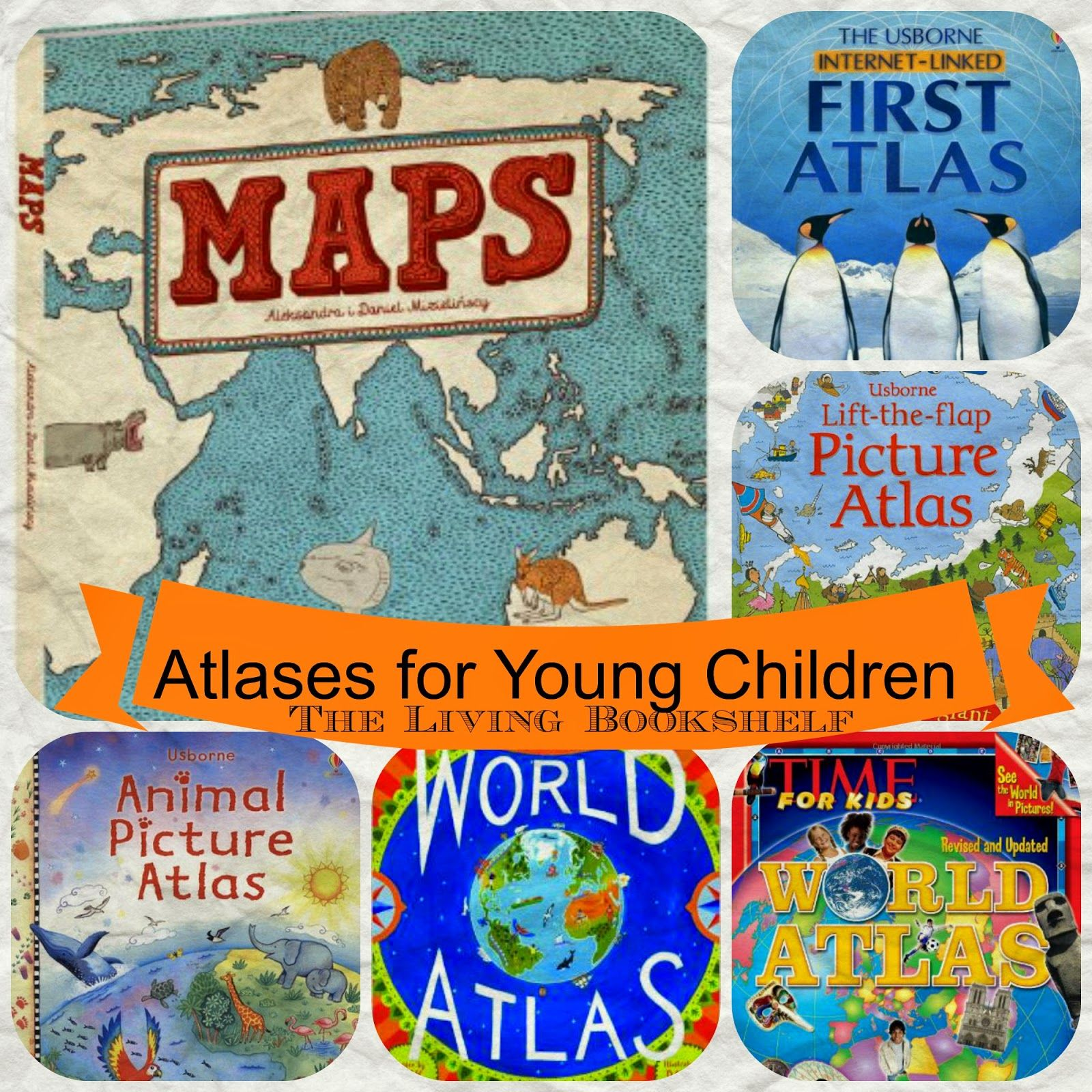 Atlases For Young Children With Images
