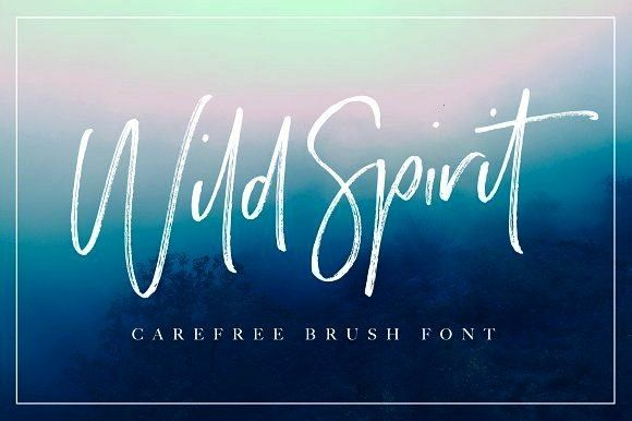 to download Wild Spirit Font by Sam Parrett Click to download Wild Spirit Font by Sam Parrett Wild Heart  Brush Font Set 40 OFF by Dirtyline Studio on creativemarket Hear...