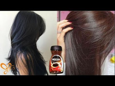 I Use This Homemade Hair Dye How To Dye Hairs At Home With Home Ingredients Get Reddish Hairs Youtu How To Dye Hair At Home Homemade Hair Dye Coffee Hair