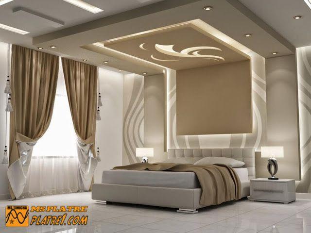 Décoration de chambre a couché | vijay | Pinterest | False ceiling ...