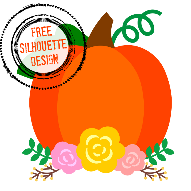 Free Silhouette Pumpkin Design