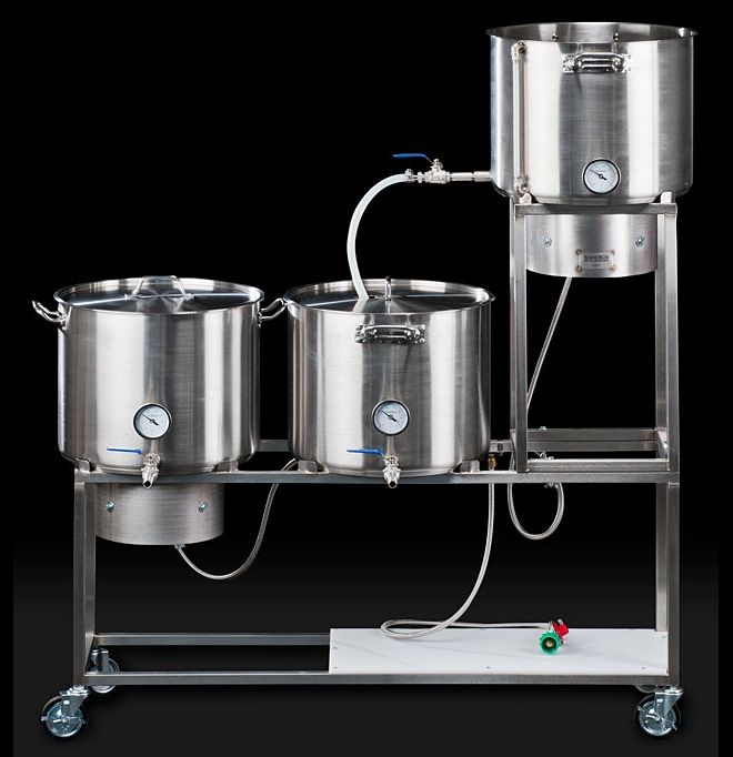High Tech Home Brew Kit Would Make Beer Robot Swoon Home Brewing Beer Beer Brewing Equipment Beer Brewing System
