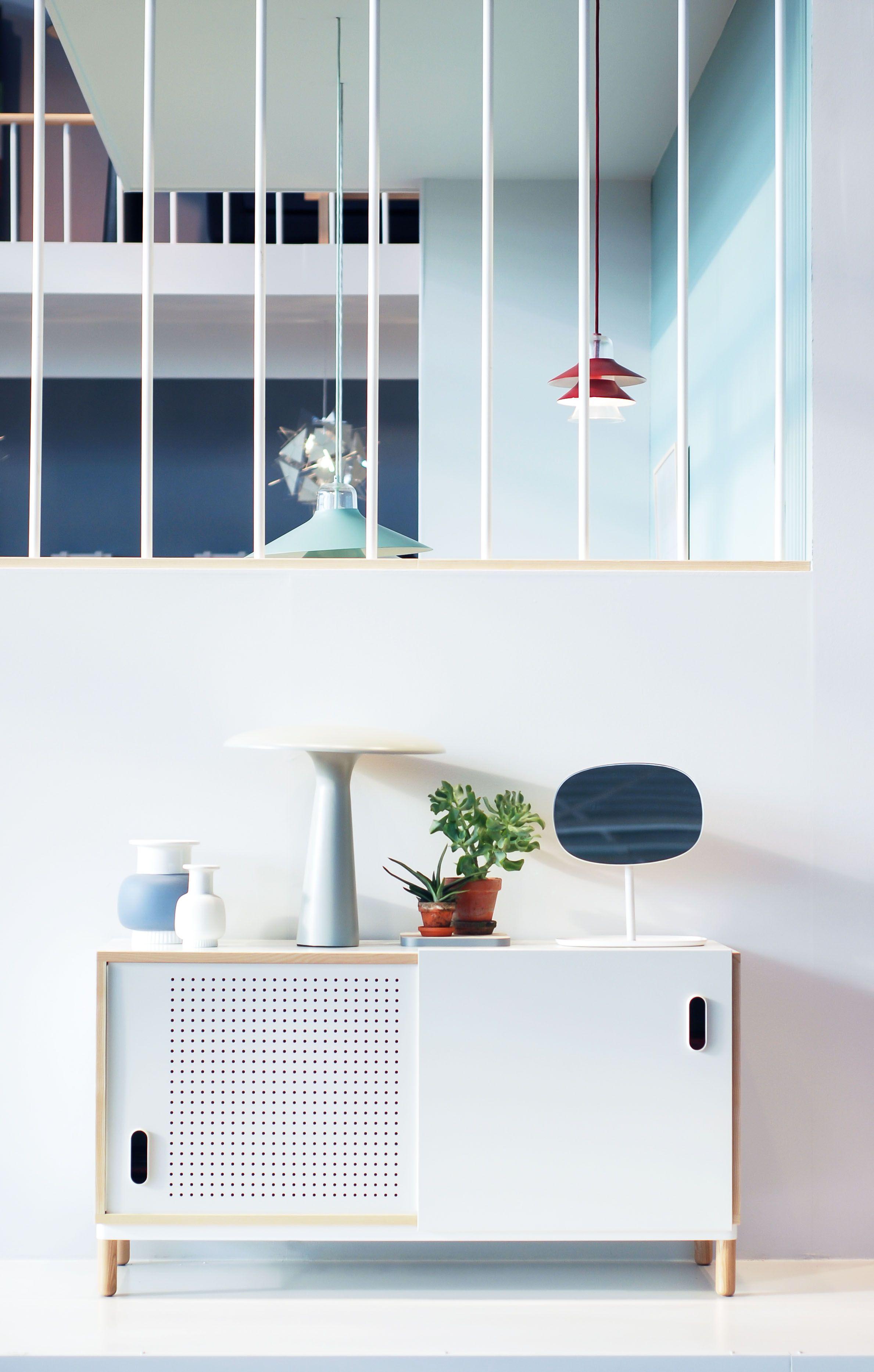 Maison et objet fall 2013 kabino sideboard flip mirror nyhavn vases shelter lamp
