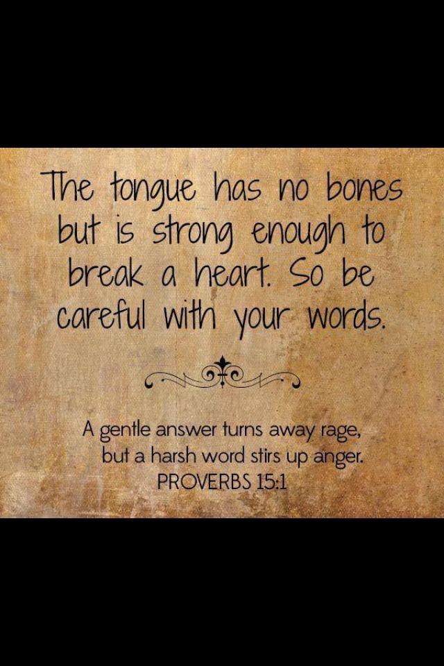Think Before You Speak Awake My Soul Think Before You Speak