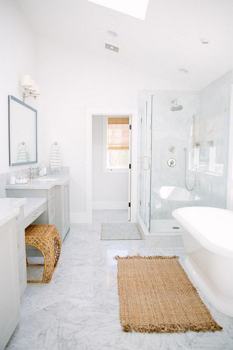 65 First Inspire Coastal Bathroom Remodel Design Ideas White