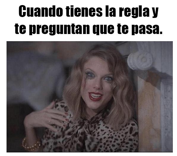 memes sobre el periodo menstrual