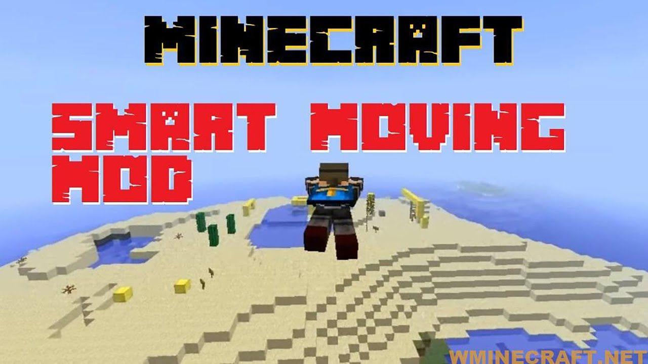 Smart Moving Mod 1 16 3 1 16 2 1 15 2 1 7 10 Sprinting Key Showcase Minecraft Mods Minecraft Mod