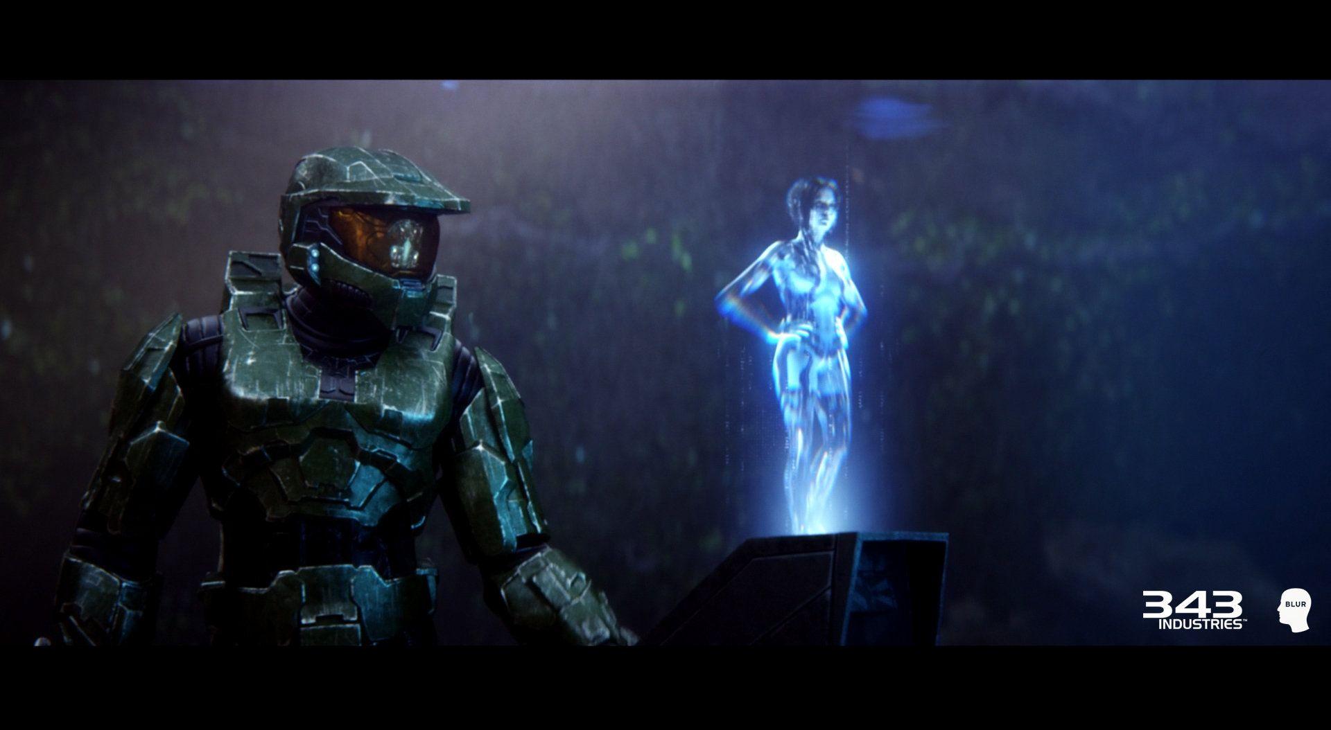 ArtStation - Halo 2 Anniversary Cutscene Characters (Cortana) for