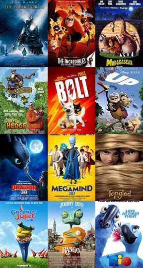1  This is a collection of animated films  To me , they